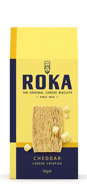 foto ROKA Cheese Crispies Cheddar Cheese 70g